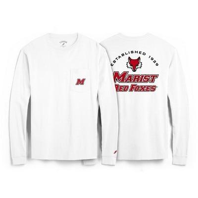 Marist College League All American Ringspun Short Sleeve Pocket T-Shirt