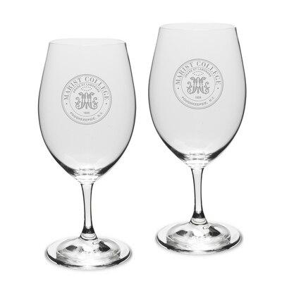 Marist College Riedel Wine Glass 2pk