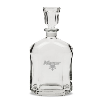 Marist College Whisky Decanter
