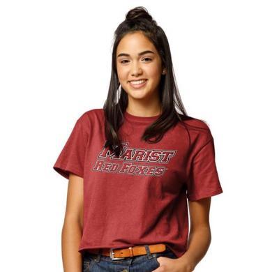 Marist College League Clothesline Crop T Shirt
