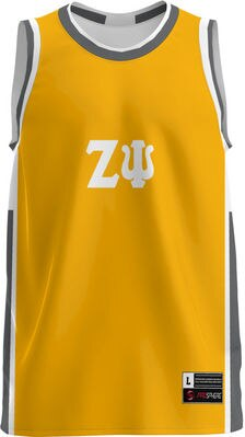 Zeta Psi Unisex Replica Basketball Jersey Modern (Online Only)
