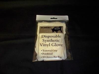 Glove-Synthetic MedBag Pk 10ct