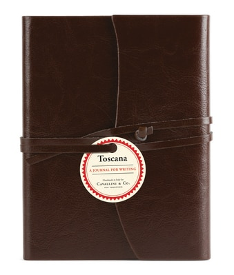 Toscana Brown Leather Journal