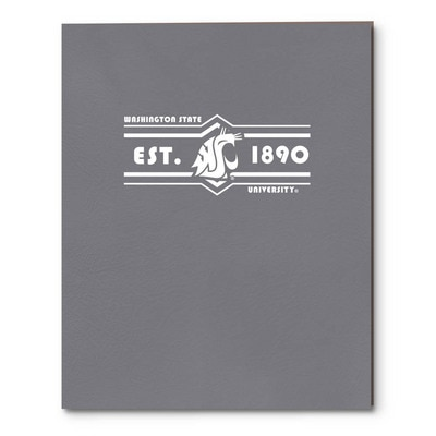 Imprinted Embossed Pocket Folder 11x8.5 Capacity
