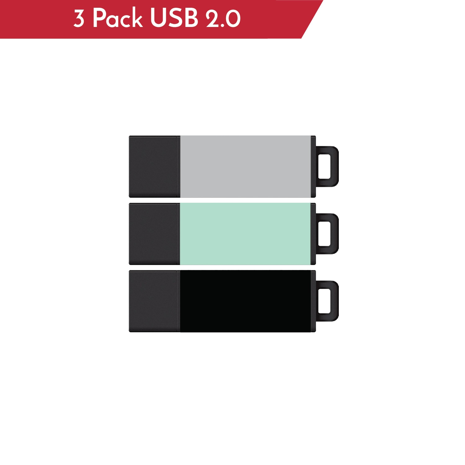 Centon 3 Pack Solid Colors