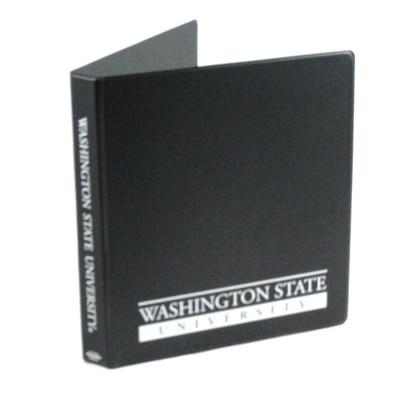 1 Inch Vinyl Binder 8.5x11 Round Ring 1 Color Imprint