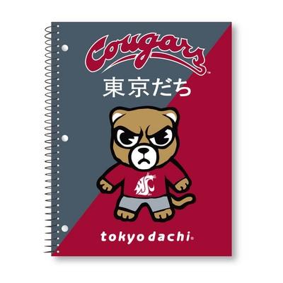 Digi Diagnol Spirit Tokyodachi Notebook, 1 Sub, 70 Sheets
