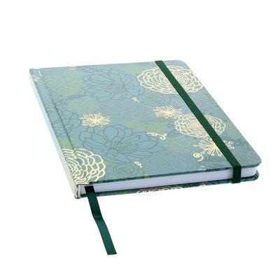 Ltd Journal Flrl Otln 6x8 Blue With Dot GrID Paper