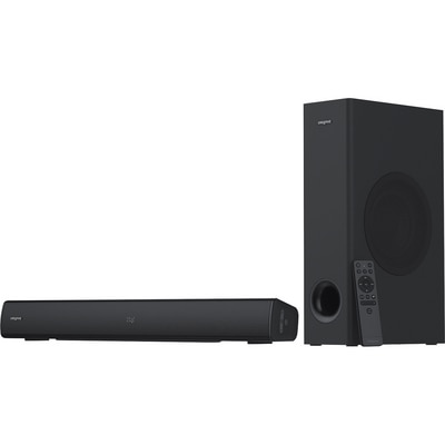 Creative Stage V2 2.1 Bluetooth Sound Bar Speaker - 80 W RMS - Black