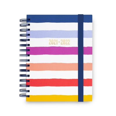 Candy Stripes Large Planner