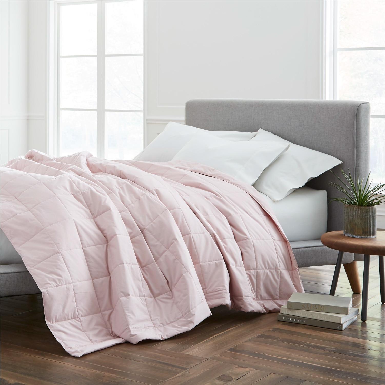 EcoPure(R) Cotton Filled Full/Queen Dark Blanket