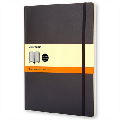 Moleskine Classic Notebook XL Ruled Scarlt Red Soft Cover
