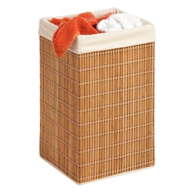 Bamboo Wicker Laundry Hamper