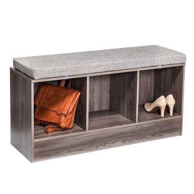 Storage Bench in Grey