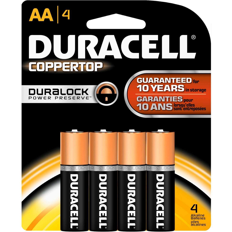 4PK AA Copper Batteries