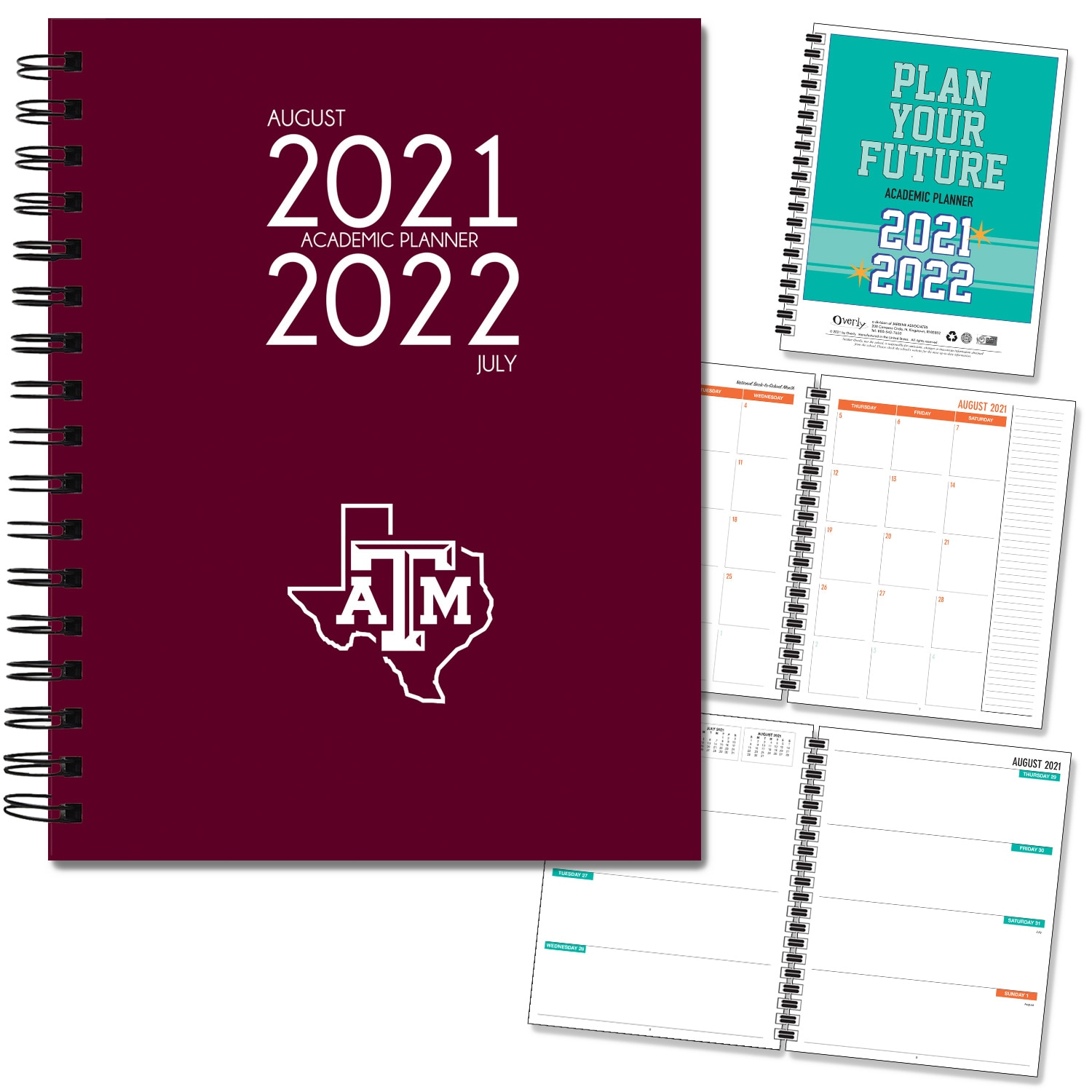 Texas A&M 20-21 7x9 Hard Cover Planner