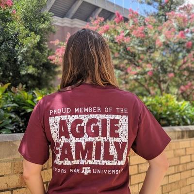 Texas A&M Family T Shirt