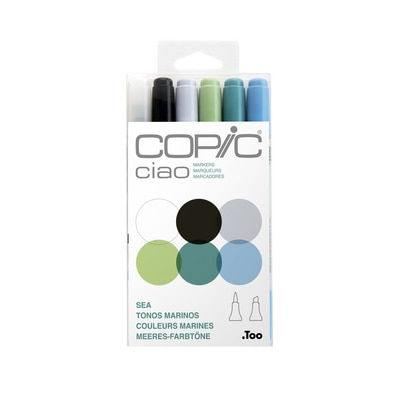 Copic(R) Ciao Marker Set, Sea