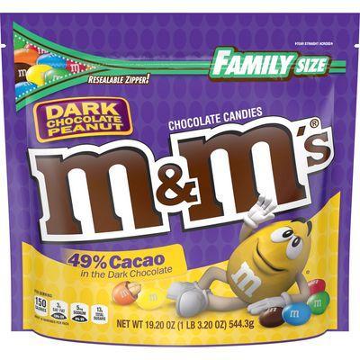 M&M'S - Dark Peanut Chocolate Big Bag