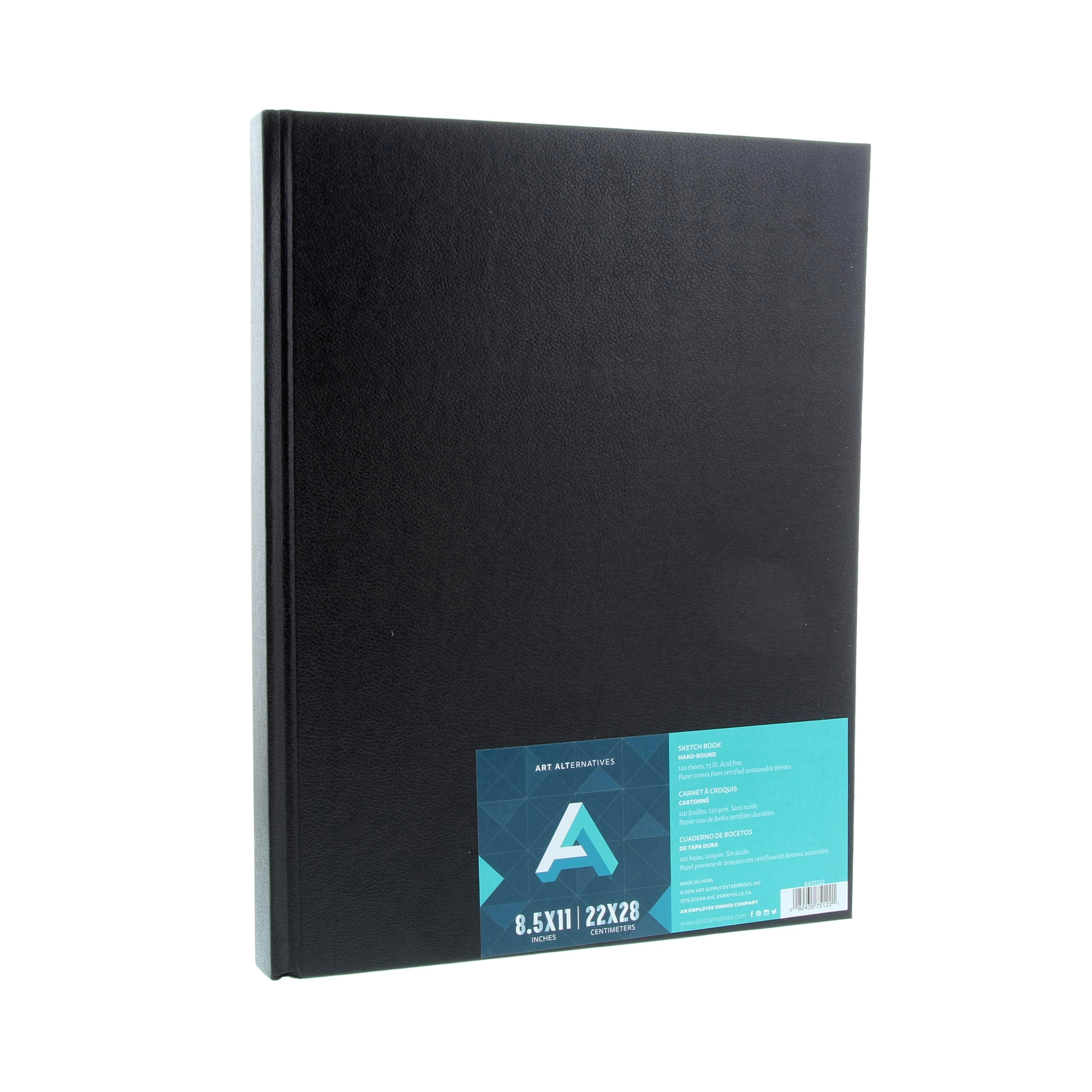 Sketch Book 11x8.5 Hard Bnd