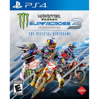 MONSTER ENERGY SUPER 3 PS4