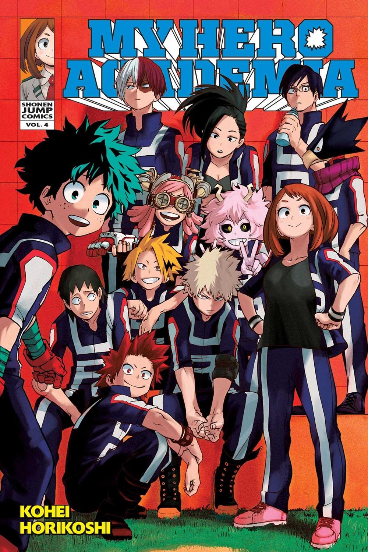 My Hero Academia  Vol. 4  4