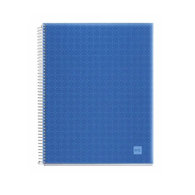 Miquel Rius Candy Code Notebook  4 Subject Blue Cover