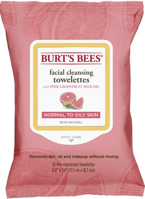 Facial Cleansing Towelettes  Pink Grapefruit (30 count)