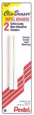 Clic Eraser 2Pk Refill Blister