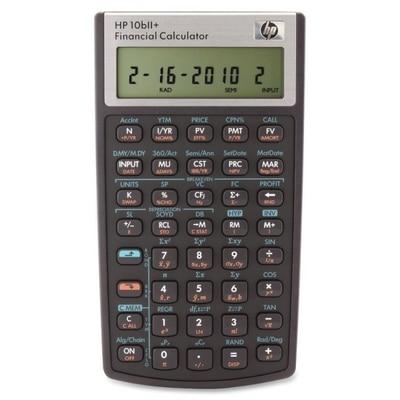 HP 10BII Plus Business/Financial Calculator