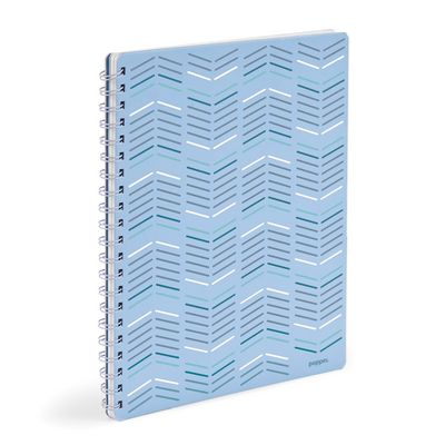Poppin Sky  Silver 1Subject Spiral Notebook (Exclusive)