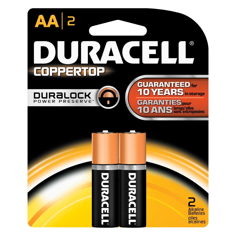 2PK AA Copper Batteries