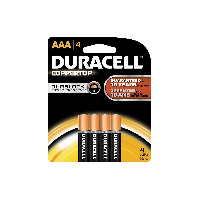 4Pk AAA Copper Batteries