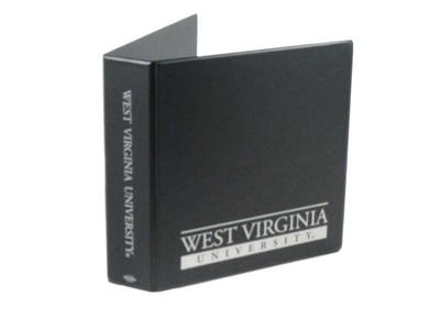2 Inch Orange Vinyl Binder 8.5x11 Round Ring 1 Color Imprint