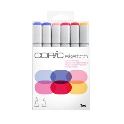 Copic(R) Sketch Marker Set, Floral Favorites 2
