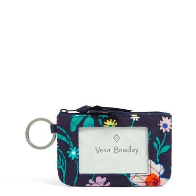 Vera Bradley Iconic Zip ID Case Moonlight Garden