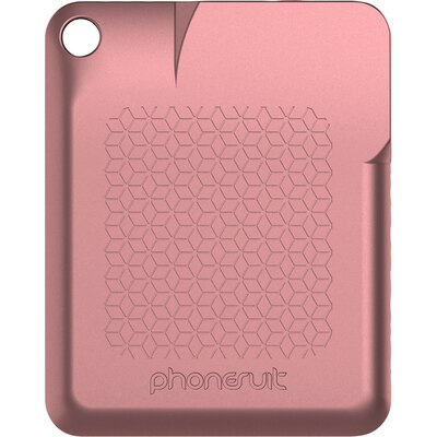 Phonesuit Flexcard Portable Charger Rose Gold