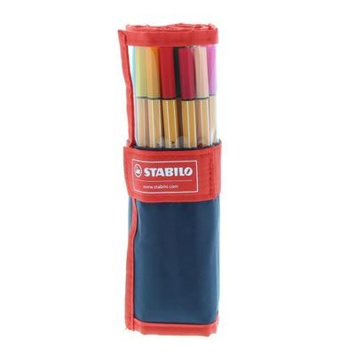 STABILO Point 88 Pen, 25-Color Roller Set