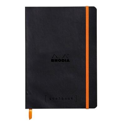 DNR Rhodia Goal Book Black 6x8 1/4