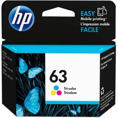 HP 63 Tri-Color Ink Cartridge