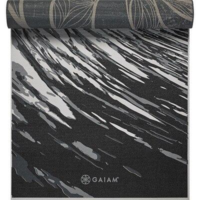 Gaiam Reversible Printed Yoga Mat Multi 5mm