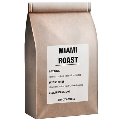 Miami Roast - One Tree Planted - Our City Coffee