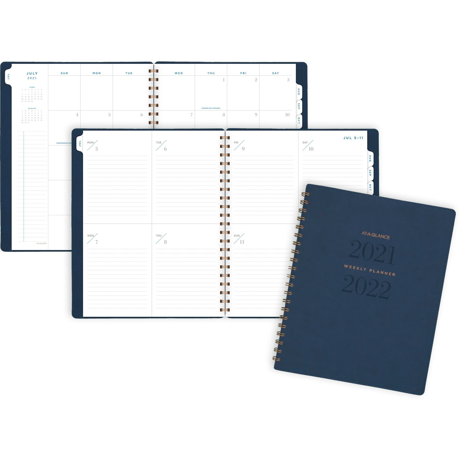 AAG AY 21-22 Navy Planner 8x11