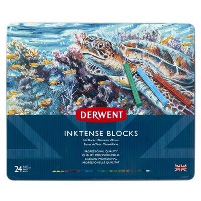 Derwent Inktense Block 24-Color Tin Set