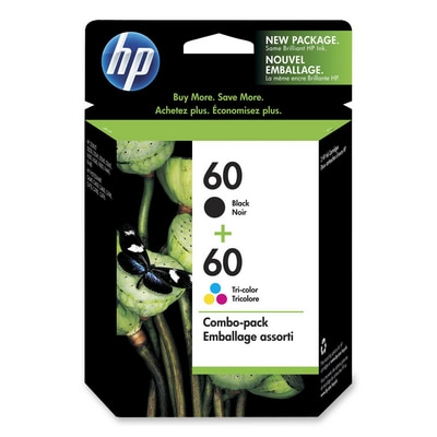 HP 60 Combo Pack Ink Cartridges