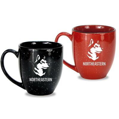 Northeastern Set of 2 16oz Speckled Ceramic Mug