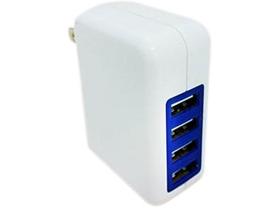 Professional Cable 4-Port Wall Adapter