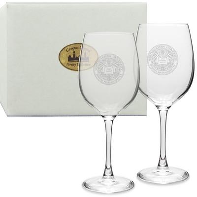 Northeastern Set 2 Red Wine Glass