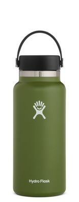 Hydro Flask 32 oz. Wide Mouth With Flex Cap Olive 2.0