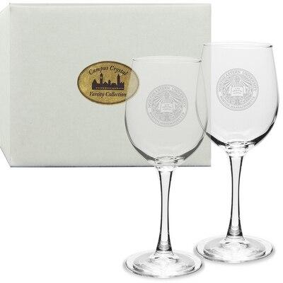 Northeastern Set 2 White Wine Glass